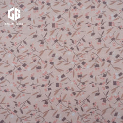 옷감을 위한 꽃무늬 디자인의 단일 저지 소재