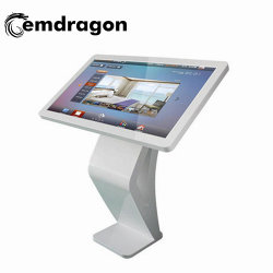 32 Inch Advertising Touch Screen Computer Met Win / Android Systeem Ad Player Led Advertising 4k Hd Display