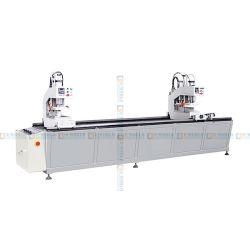 مصنع الصين توريد مباشر ماكينة لحام مزدوجة الرأس للجمعية باب نافذة UPVC PVC