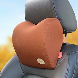 Siège de voiture cou oreiller Support de goulotte oreiller gonflable
