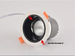 7W-20W carregador giratório COB levou a luz de teto para lâmpadas H ome/Office/Supermaket/Armazenar a iluminação com preços de grosso levaram Luzes de foco