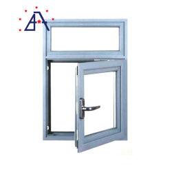 UPVC Fenêtre à battant coulissant en verre avec poignée de verrouillage de fenêtre