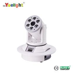 DJ Disco 7PCS LED перемещения фары с лазерным мини-перемещение головки ручной этап лампа