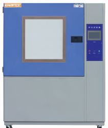 Chambre d'essai de la poussière de sable de l'environnement avec la poussière avec Kw-Sc-1500