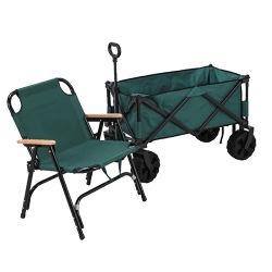 Luz de alta qualidade peso carrinho de mão jardim a dobragem efectuar Carrinho Camping dobrável