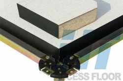 HPL/PVC antistatischer Woodcore angehobener Zugriffs-Fußboden 600*600