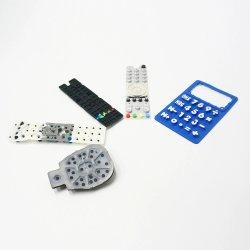 Bouton en caoutchouc personnalisé, bouton en caoutchouc de silicone Clavier en silicone, caoutchouc bouton poussoir