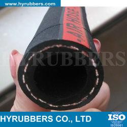 خرطوم مياه الهواء المطاطي المصنوع من الألياف المرنة، والذي يعمل بتقنية المطاط، WP 20bar