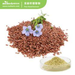 Les graines de lin Extrait de la graine de lin en poudre prix 20 % lignanes de lin