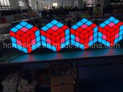 Высокая яркость цветов RGB LED 3D-Magic Cube стены
