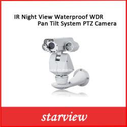 Visão nocturna com infravermelhos impermeável WDR Pan Tilt Câmara PTZ do sistema