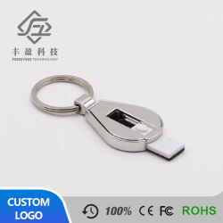 Disco su ordinazione dell'azionamento dell'istantaneo del bastone del USB di sublimazione di figura della catena chiave