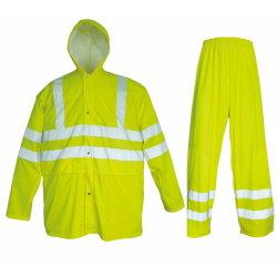 Werkkledij Vis van de Veiligheid van mensen de Fluorescente Gele Openlucht Hoge