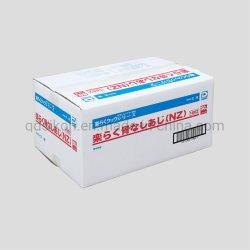 De Kleurendruk plooide het Witte Karton van de Verpakking van het Voedsel van de Doos van het Karton