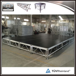 Asamblea portátil en el exterior de aluminio para el rendimiento de la fase