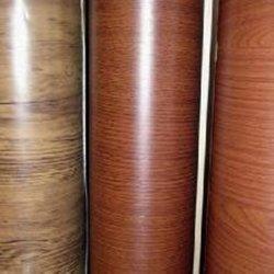 Grãos de madeira ornamentada filme de PVC para o metal de alumínio Painel decorativo