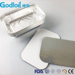 De beschikbare Gelamineerde Deksels van de Folie van het Aluminium van de Containers van de Folie van het Aluminium