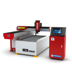 작은 소형 1000*2000mm CNC Waterjet 물 분출 유리제 절단기 가격