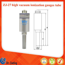 Reborn Zj-27 Metal 15.5 Diameter High Vacuum Ionization Gauges Tube.(금속 15.5 직경 고진공 이온화