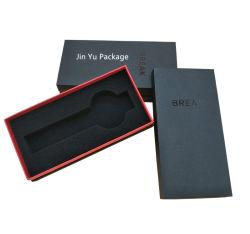 علبة ورق بطاقات مصنوعة يدويا مخصصة هدية مجوهرات ساعة شاشة عرض صندوق التعبئة