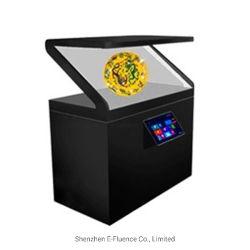 """65"""" pulgadas180 grado táctil interactiva de pantalla de proyección holográfica en 3D con Android Reproductor y ordenador con Windows opcional"""