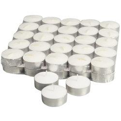 Precio barato 14G Velas Candelitas blanco para Navidad