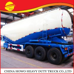 Fabricante China 28000-60000 litros del depósito de graneleros de cemento semi remolque camión de transporte, compresor de aire de cemento a granel
