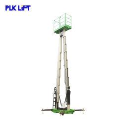 Hydraulischer Aluminiumstrichleiter-Aufzug-Luftaufbau-Hebezeug