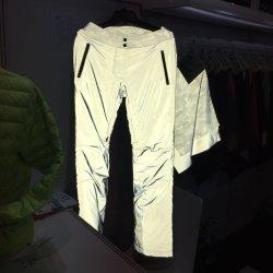 100% полиэстер светоотражающей ткани для спортивной одежды Outwear