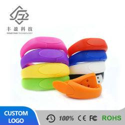 Cadeaux personnalisés Bracelet Bracelet en silicone lecteur Flash USB