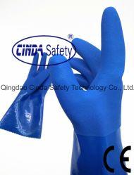 Olie van het Werk van de arbeid de Beschermende Industriële & de Chemische Bestand Handschoenen van pvc/de Handschoenen van de Veiligheid