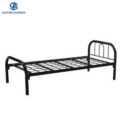 أثاث غرفة النوم سرير مفرد معدني رخيصة من الحديد