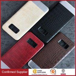Cubierta de cuero del teléfono de la PU, caja común del teléfono celular de la manera del estilo para la nota 8 de Samsung