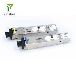 Ethernet ottica della singola fibra di singolo modo di gigabit del modulo del ricetrasmettitore dello SFP del connettore dello Sc di 1g 3km MP compatibile con l'interruttore 20 del Cisco