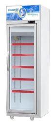 Green-Santé 3 portes commerciales porte en verre vitrine de présentation verticale vertical congélateur