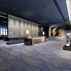 Hôtel de luxe de la laine Jacquard & salle de revêtement de sol en nylon et du Corridor de moquette Axminster