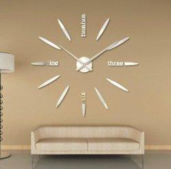 prix d'usine de haute qualité Horloge murale bricolage autocollant décoration maison