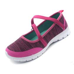 Tissu/ toile Lady Fashion chaussures de sport décontracté avec semelle EVA
