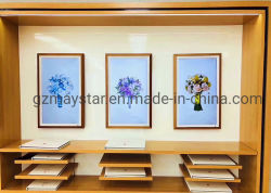 32 43 49 55 65 بوصة إطار صور رقمي كبير الحجم / إطار صور رقمي للفن في المعرض الفني /  قاعة المعارض