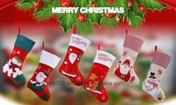 Venda por grosso de desligar as meias para artesanato decorações de Natal