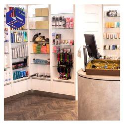 Kabinet van de Tribune van de Vertoning van het Ontwerp van de Winkel van Bodycare het Binnenlandse Houten
