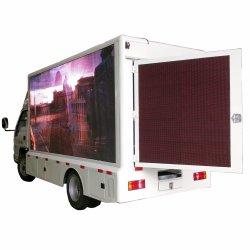 De Vrachtwagen van de mini Waterdichte 4X2 LEIDENE van de Vrachtwagen van het Aanplakbord Reclame van het Scherm