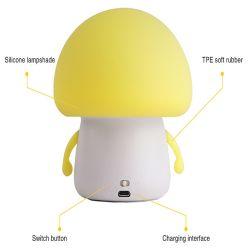 Service de la lumière de silicone décoratifs OEM Abat-jour pour la chambre