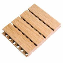 Panneau acoustique en laine de bois naturel de l'insonorisation de panneaux de fibres de bois