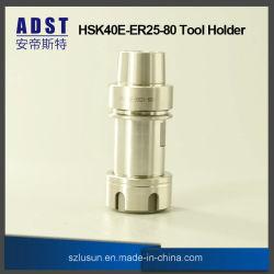 Outil d'accessoires CNC HSK40e-er outils25-80 support pour machine CNC