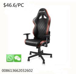 Bureau de l'ordinateur de luxe les plus populaires jeux de métal chaise en cuir réglable
