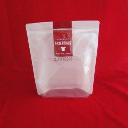 ارتفاع سعر Facotry لحقيبة القفاز الخاصة بكيس Hang Hole Zipper عند الملابس الداخلية/القفازات مع نافذة