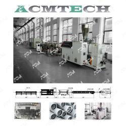 플라스틱 UPVC 관 PVC HDPE PPR PE PP 물 전기 도관 관 밀어남 생산 라인