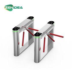 자동화된 안전 입구 삼각 십자형 회전식 문 통제 시스템 자동적인 문 그네