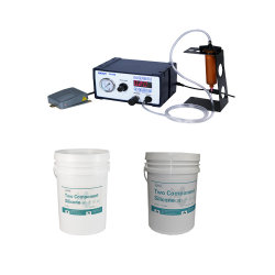 SMPS/LEDドライバーのための2部液体LEDのシリコーン